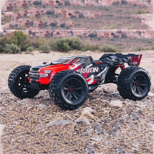 Automodelo Arrma Kraton 6s Monst 4wd Red New