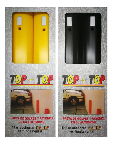 Topes Pared. Protección Total. Pvc Flexible Autos Camionetas
