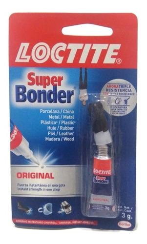 Súper Bonder 3g Pegante Instantáneo Original