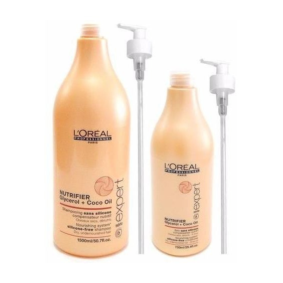 Loreal Nutrifier Kit Nutricion Secos Shampoo + Enjuague