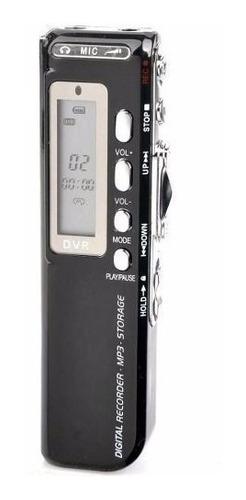 Gravador De Voz Digital Espião 8 Giga Escuta Telefonica Mp3
