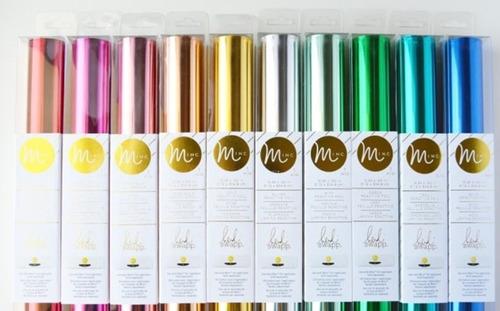 Lámina Reactiva Foil Heidi Swapp Varios Colores Scrapbook