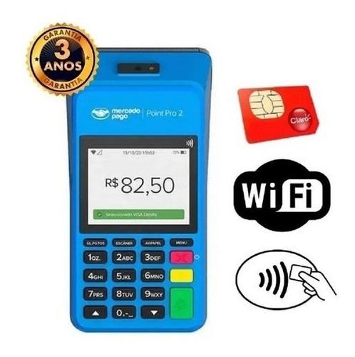 Maquininha Point Pro - Chip & Wifii-imprime - Pronta Entrega