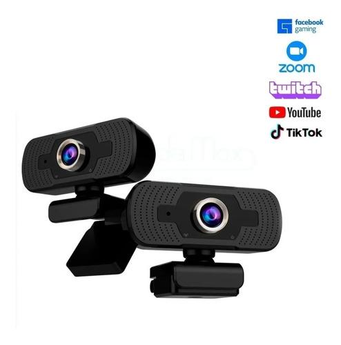 Webcam Microfone Embutido Full Hd 1080p  Usb Câmera Notebook