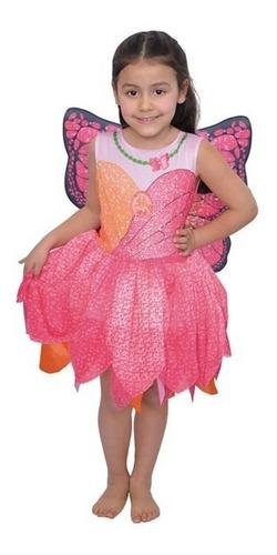 Disfraz Barbie Mariposa New Toys Rosa T2 9052