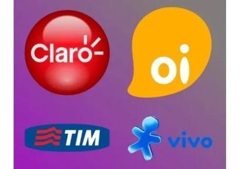 Recarga De Celular Crédito Tim Claro Vivo Oi R$ 10,00 Online