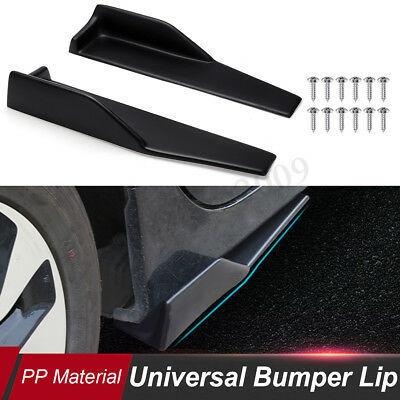 2pcs 14 Universal Car Side Skirt Rocker Splitters Winglet W