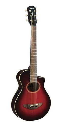 Violão Eletroacústico Yamaha Apxt2  Dark Red Burst