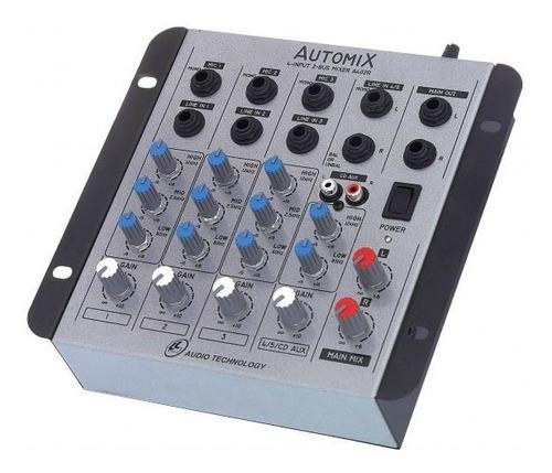 Mesa De Som Mixer Automix Ll A402r  4 Canais 12 Volts Original
