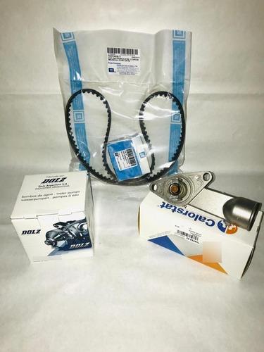 Kit Distrib Origina Corsa/celta/agile+b/agua Dolz+termostato