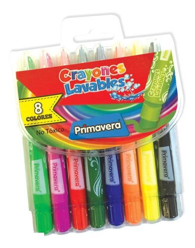 Crayones Lavables Primavera