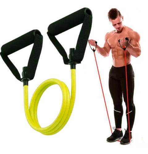 Elástico Tensão Powertube Treino Braços Peito Musculação
