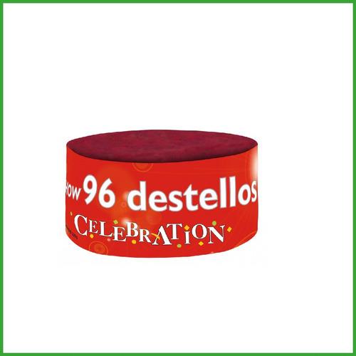 Show 96 Destellos - Celebration - Fuegos Artificiales - Pow!