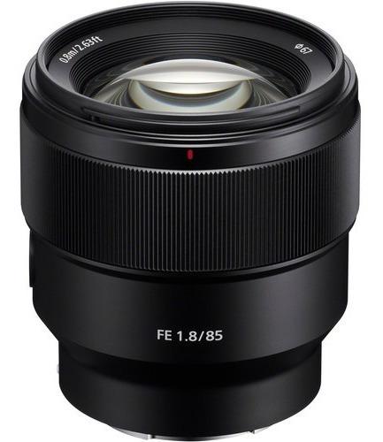 Lente Sony Fe 85mm 1.8 Nuevo En Caja Sellado