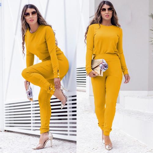 Conjuntos Femininos De Blusa E Calça