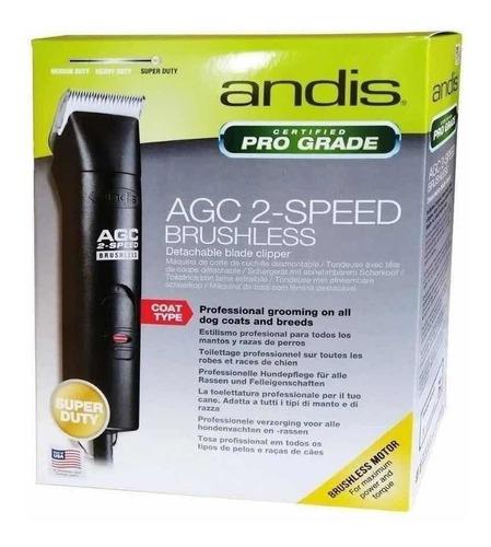 Maquina De Tosa Andis Bivolt-brushless -agc2  C/lamina 10