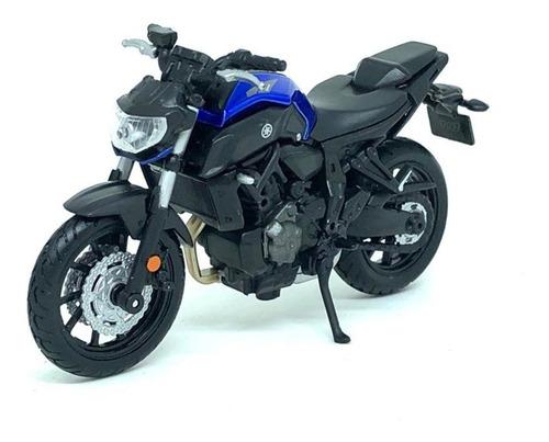 Miniatura Moto Yamaha Mt 07 Mt-07 (2018) - 1:18 - Maisto