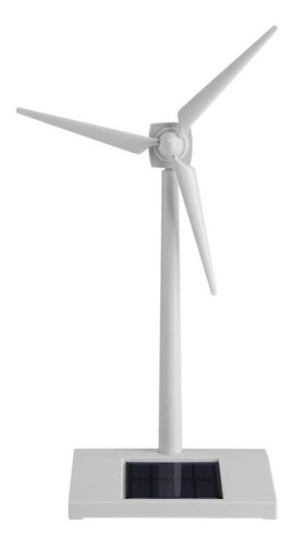Wilecolly Energía Solar Molino De Viento Juguete Mini Energí