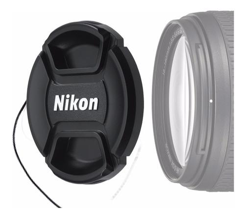 Tapa Para Lente Nikon 18-55mm Af-p Ø 55mm D3400 Zona Abasto