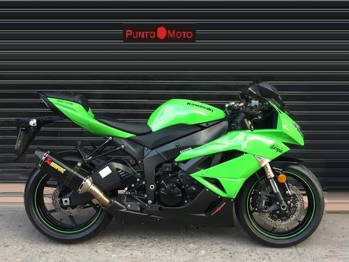 Kawasaki Zx 6 Ninja Igual A 0km !! Puntomoto !! 15-2708-9671