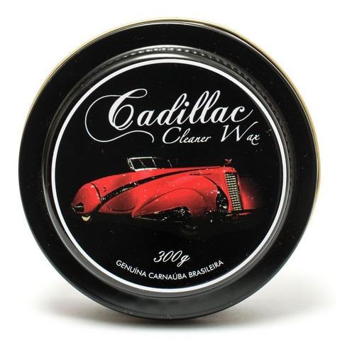 Cera De Carnaúba Cleaner Wax Cadillac 300g Proteção E Brilho