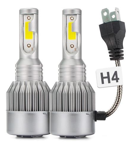 Kit Lâmpadas Ultra Led Full H4 Efeito Xenon Super Branca