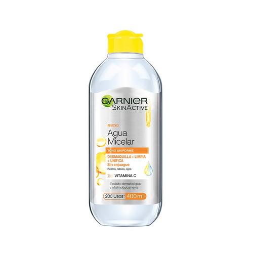Agua Micelar Garnier Skin Naturals Aclarante 400ml