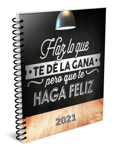 Agenda Haz Lo Que Te ... 2021, Kit Imprimible. Envío Gratis.