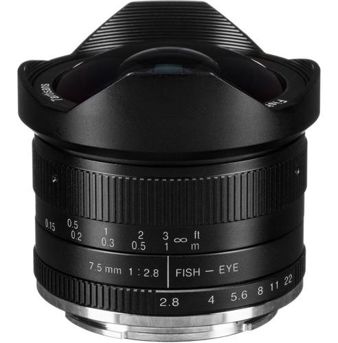 Lente 7artisans 7.5mm F2.8 P/ Fujifilm Xf X-t4 X-t3 X-t30