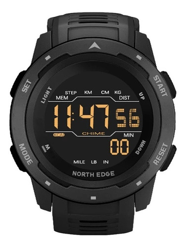 Relógio Mars Da North Edge Original Prova D´água 50m + Caixa