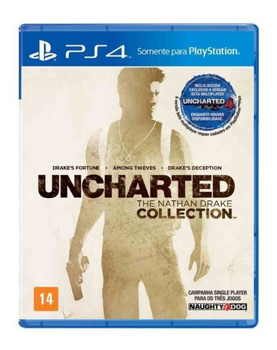 Uncharted: The Nathan Drake Collection Físico Ps4 Sony