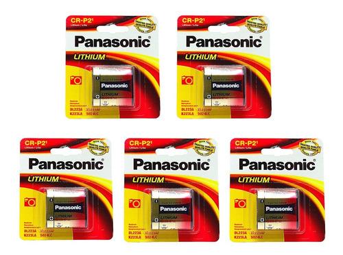 Crp2  Panasonic 5 Piezas 6 Volts Litio El223ap Cr-p2