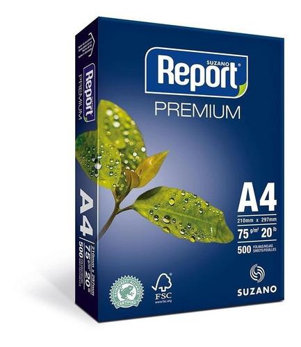 Papel Sulfite A4 500 Folhas Report Branco 75g