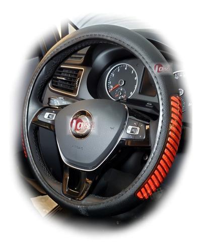 Cubre Volante Premium Con Reflectivo 37  39cm Auto Camioneta
