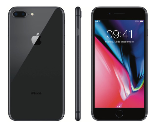 Celular iPhone 8 Plus 64gb Recertificado + Vidrio Templado