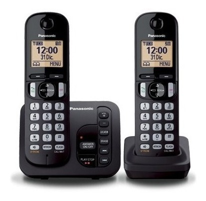 Telefono Inalambrico Panasonic Tgc 222 2 Bases Cont Albion