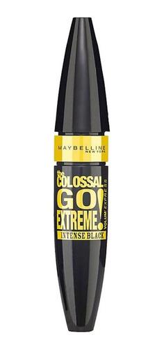Máscara De Pestañas Maybelline The Colossal Go Extreme 9.5ml Color Intense Black