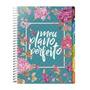 Planner Agenda Meu Plano Perfeito Capa Flores 2020