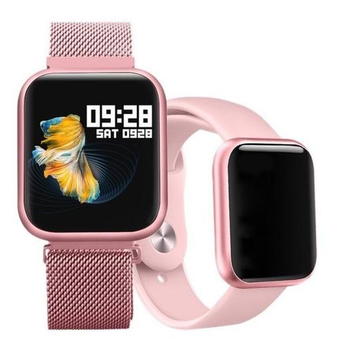 Relogio Smartwatch Compatível iPhone Samsung Xiaomi Motorola