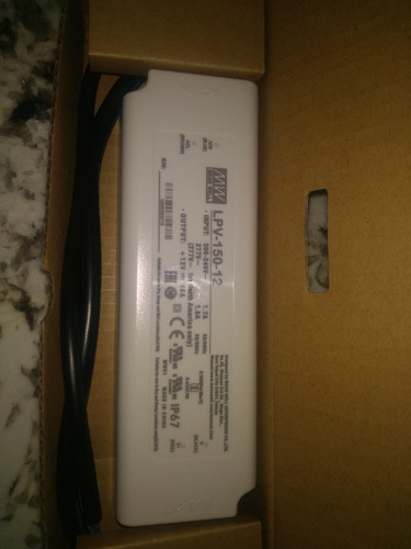 Fuente Switching Mean Well Lpv-150-12