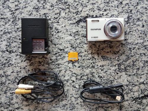 Câmera Digital Olympus X-920 12mp - Usado C/ Defeito