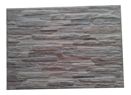 Ceramica Muro Piedra Revestim Frente Mureto Cobre 25x35 1�