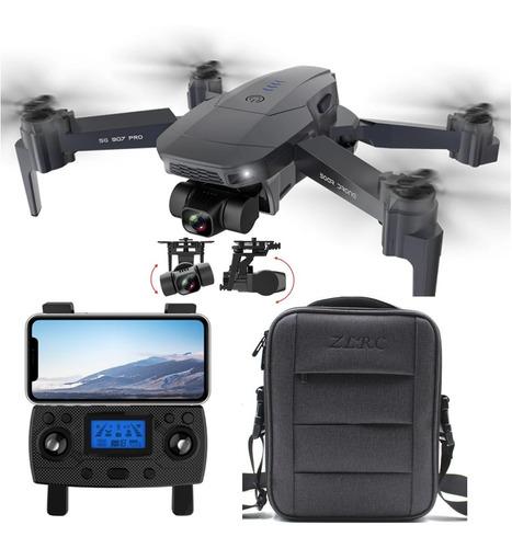 Drone Zlrc Fly Sg907 Pro Câmera 4k Wifi 5g Gimbal 2 Eixos