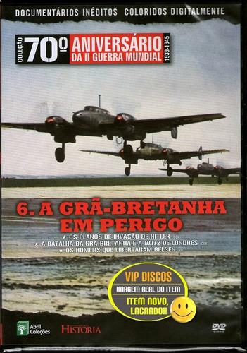 Dvd Coleção 70 ª Aniversário Da Segunda Guerra Vol. 6 Novo Original