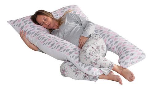 Travesseiro Gestante De Corpo Gravida Almofada Amamentação