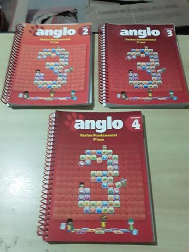 Livros Anglo Ensino Fundamental 3º Ano - Cadernos 2,3 E 4