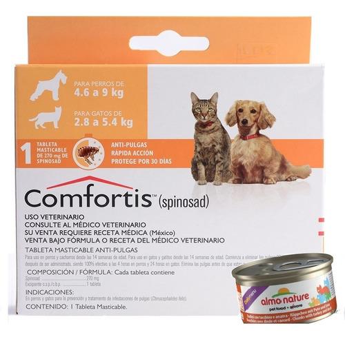 Pastilla Antipulgas Perro Y Gato Comfortis 4.6 A 9kg! +pate!