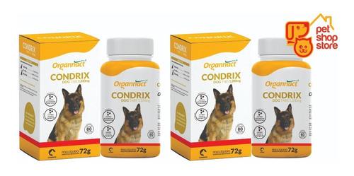 2 X Condrix Dog Tabs 72g 1200mg Organnact Pet Shop Store