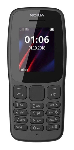 Nokia 106 (2018) 4 Mb Gris Oscuro 4 Mb Ram