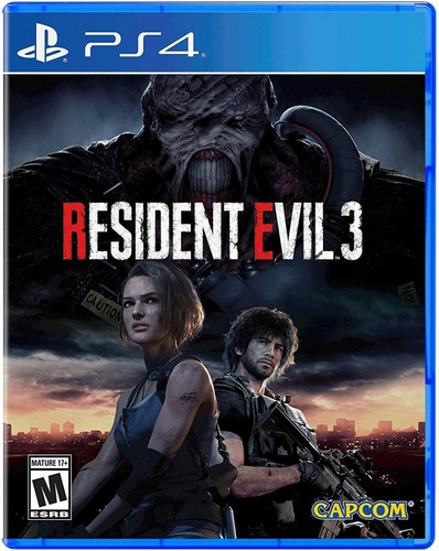Resident Evil 3 Remake Fisico Sellado Ps4 * Blue Coin